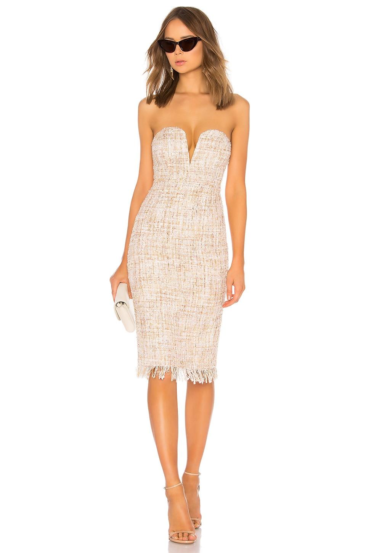 LPA Dress 691 in Cream Multi