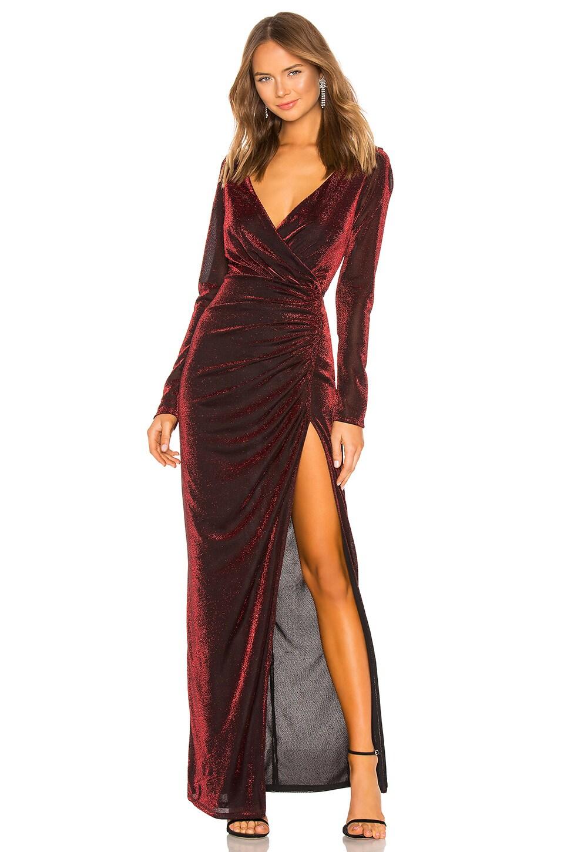 LPA Annunciata Dress in Red