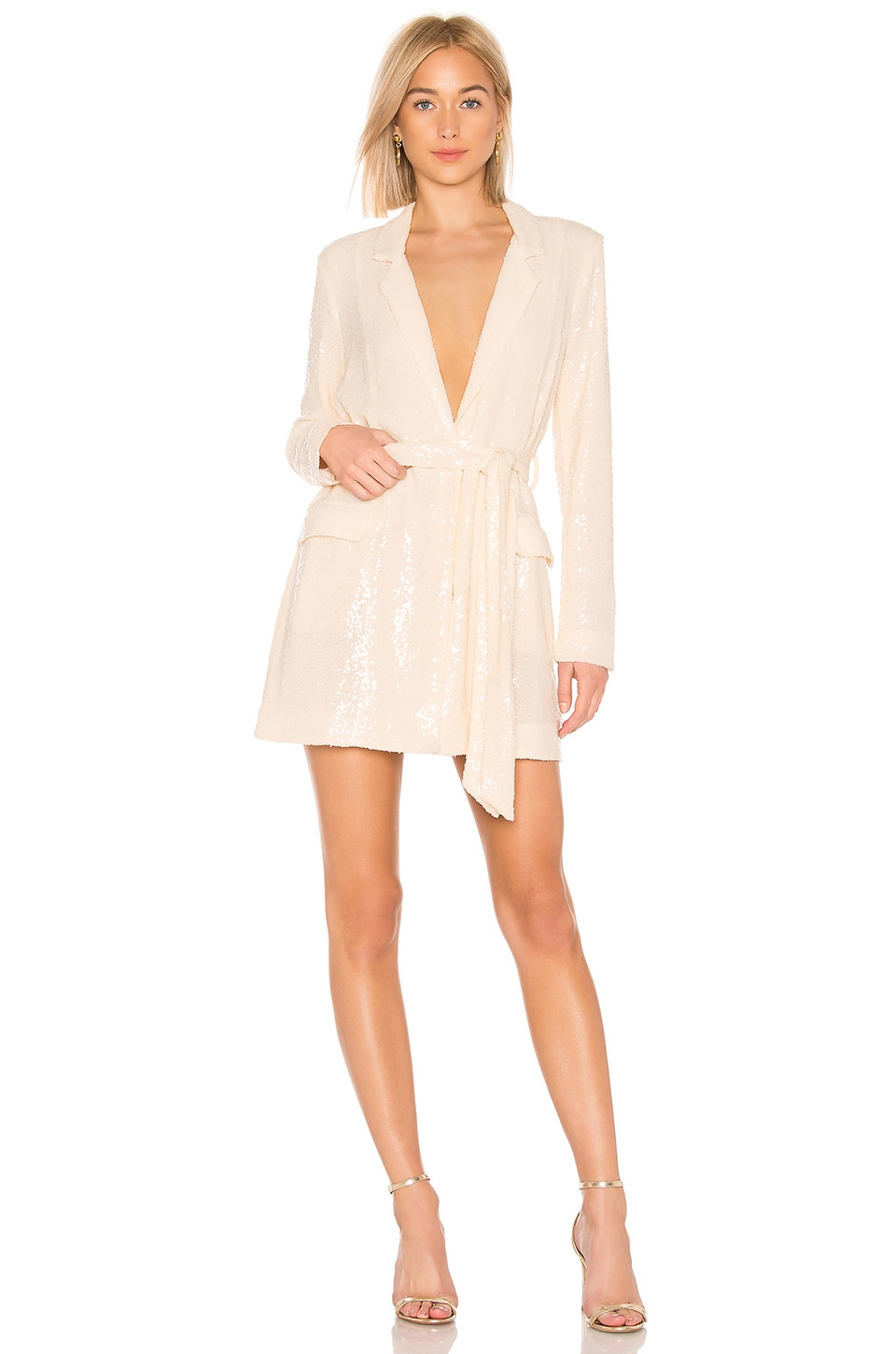 LPA Eleonora Suit Dress in Nude