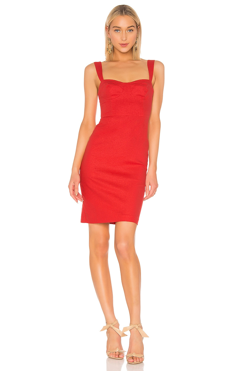 LPA Dahna Dress in Red
