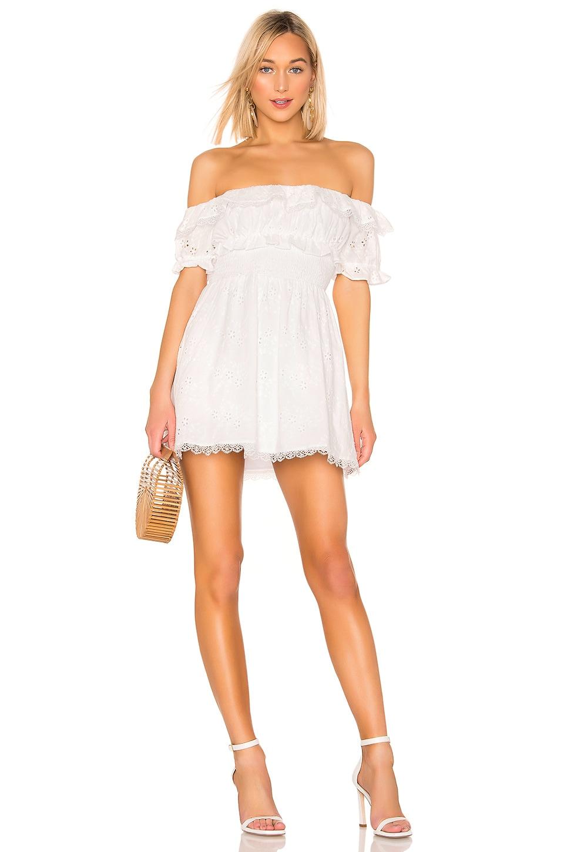 LPA Norina Dress in White