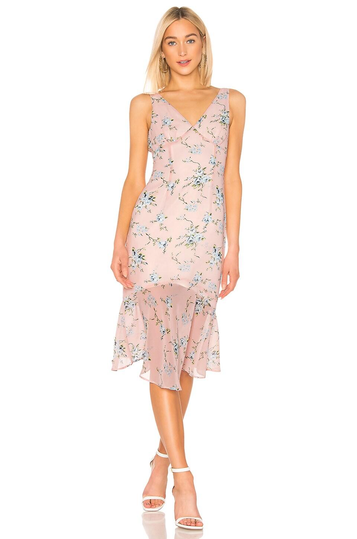LPA Amelia Dress in Margit Floral