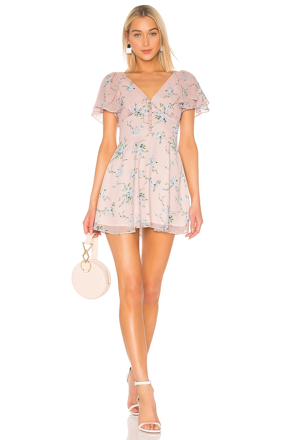 LPA Amina Dress in Margit Floral