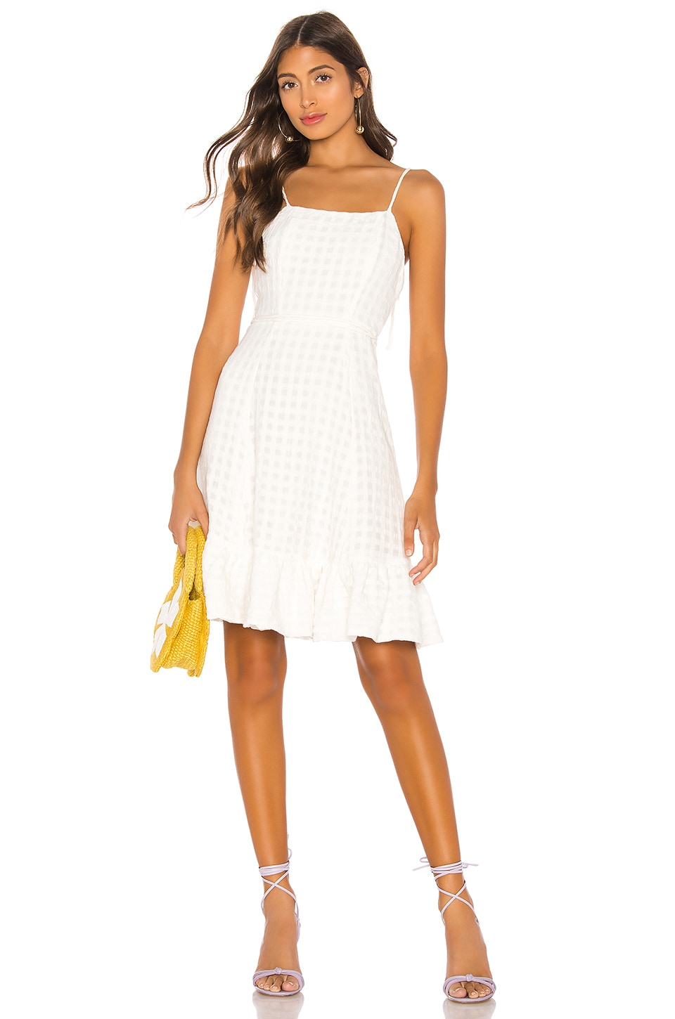 LPA Valente Dress in White