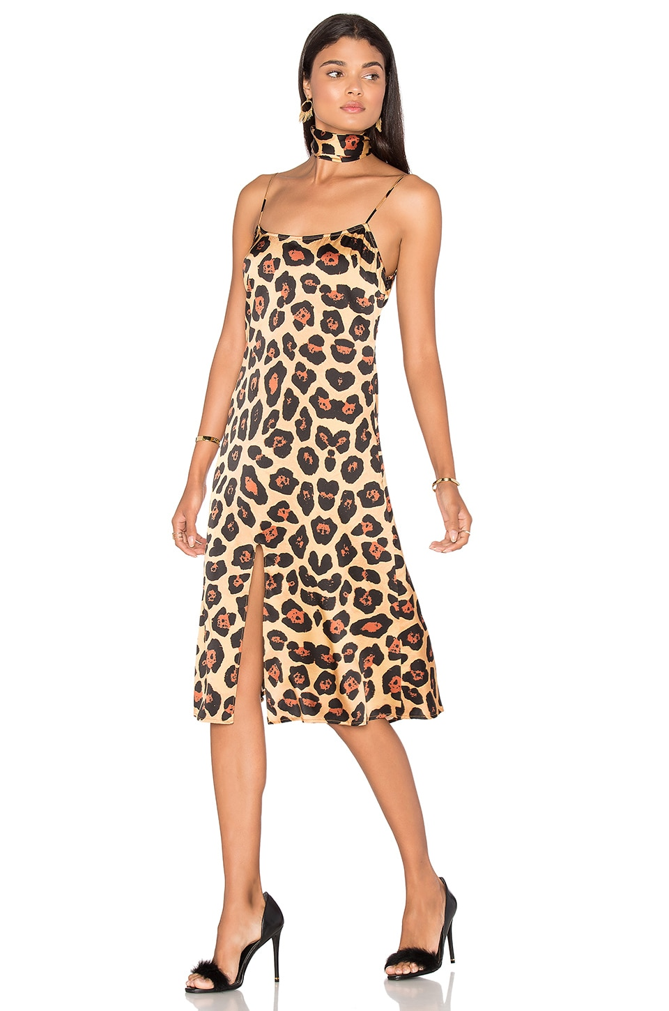 LPA Dress 14 in Painted Leopard