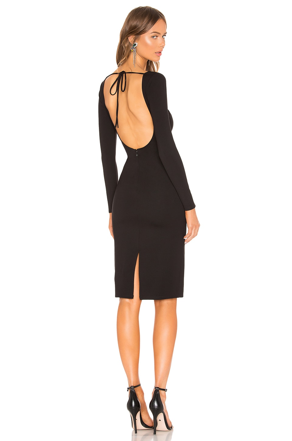 LPA Bello Dress in Black