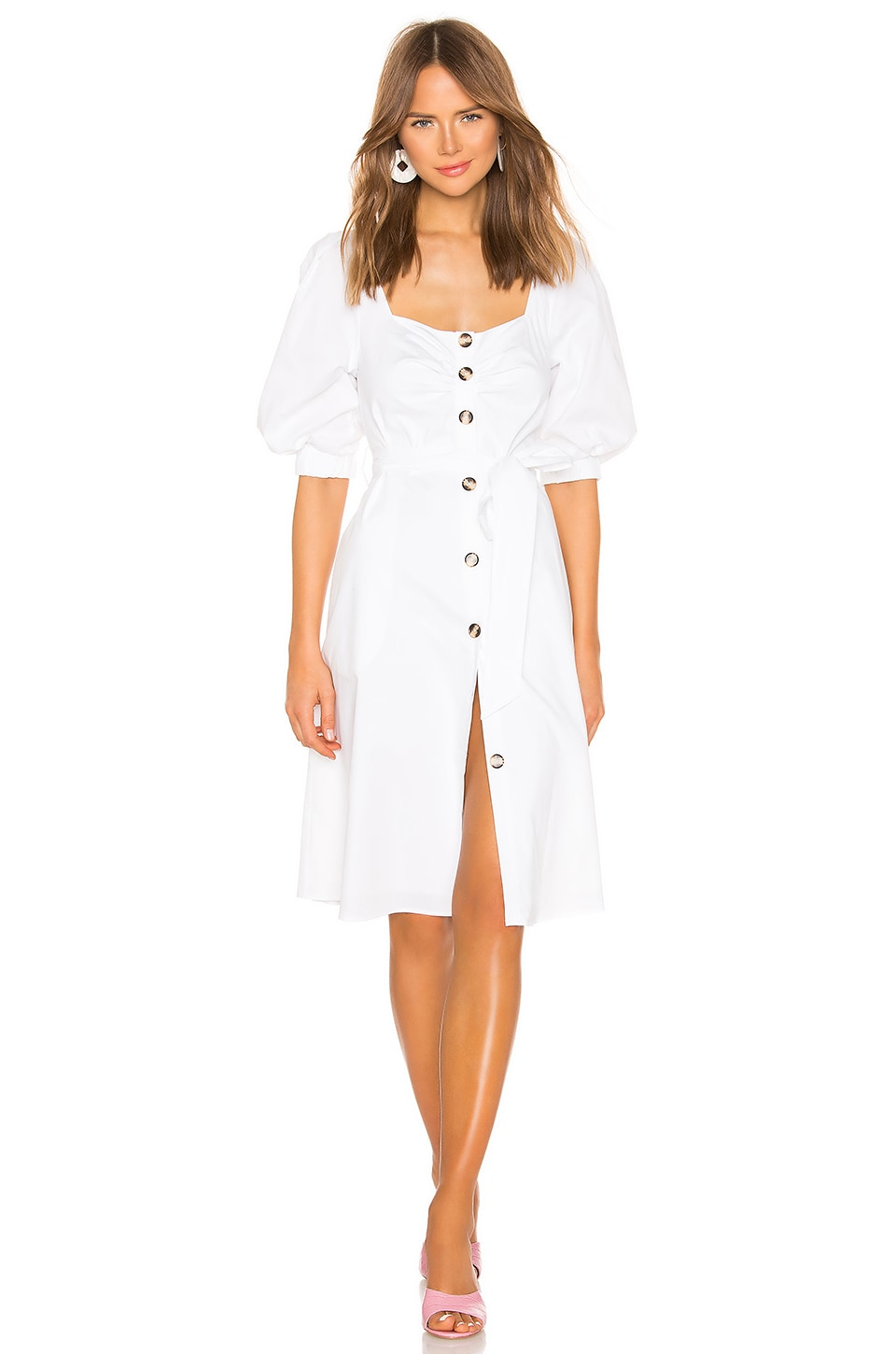 LPA Aida Dress in White