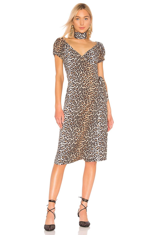 LPA Silvia Dress in Leopard