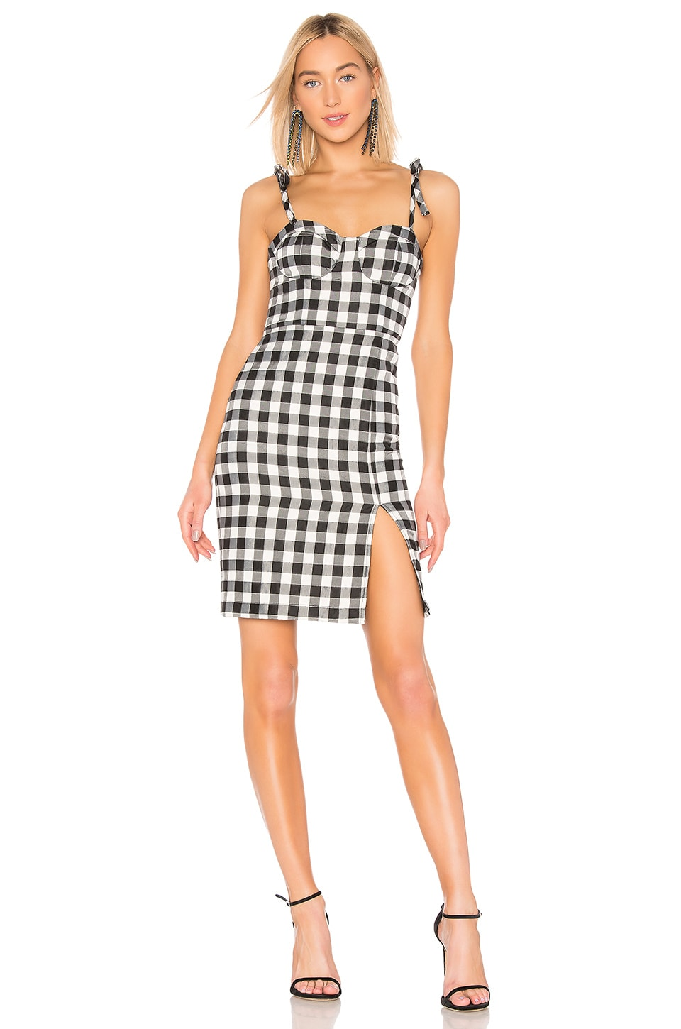 LPA Rachele Dress in Black & White