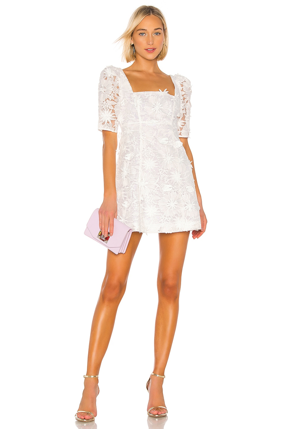 LPA Tersa Dress in White