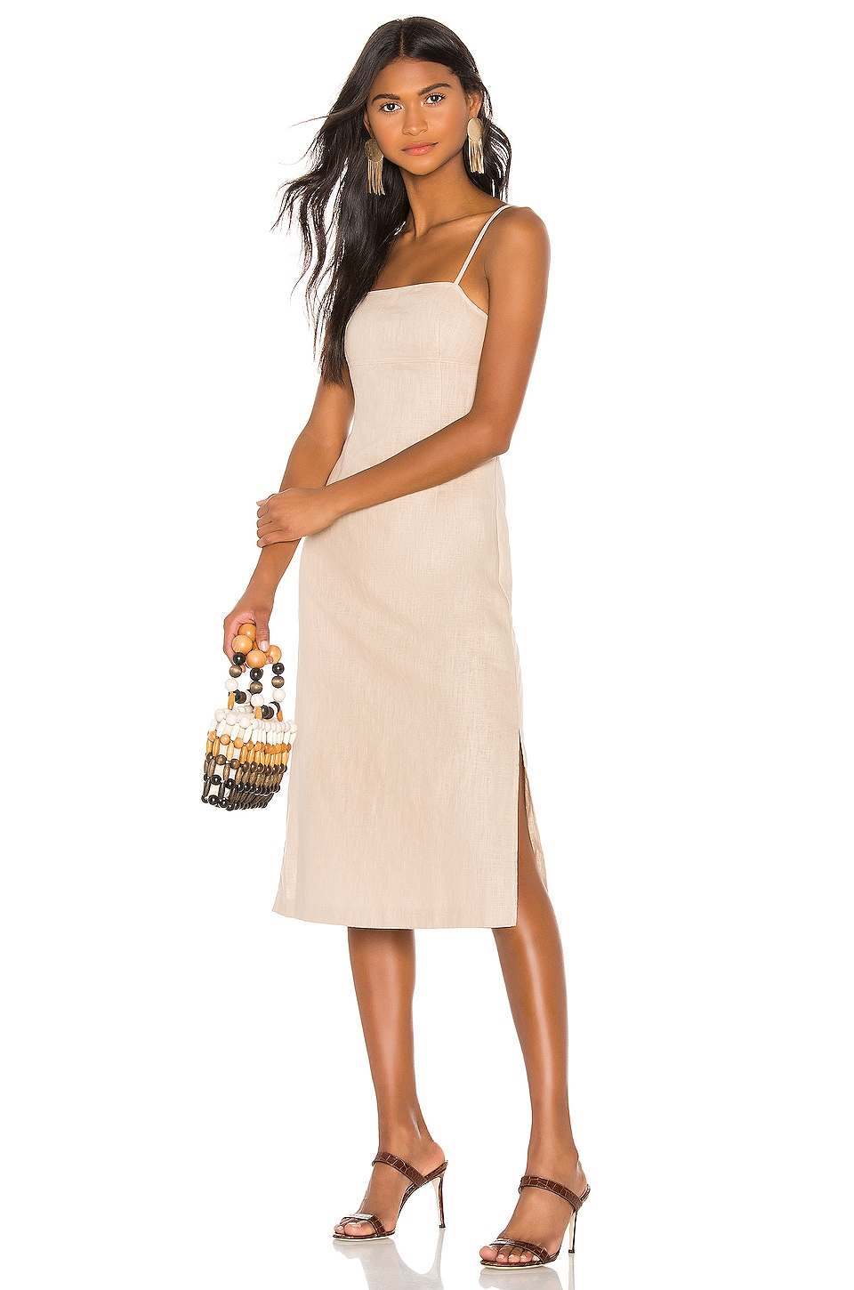 LPA Janina Dress in Sand