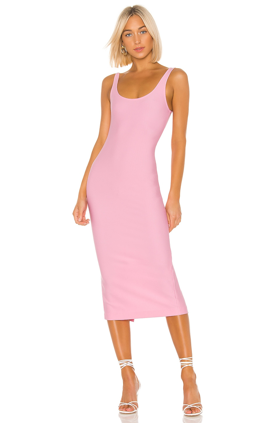 LPA Deangela Dress in Baby Pink