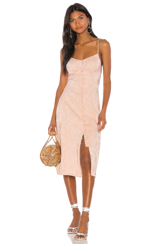 LPA Pasquelina Dress in Blush Nude