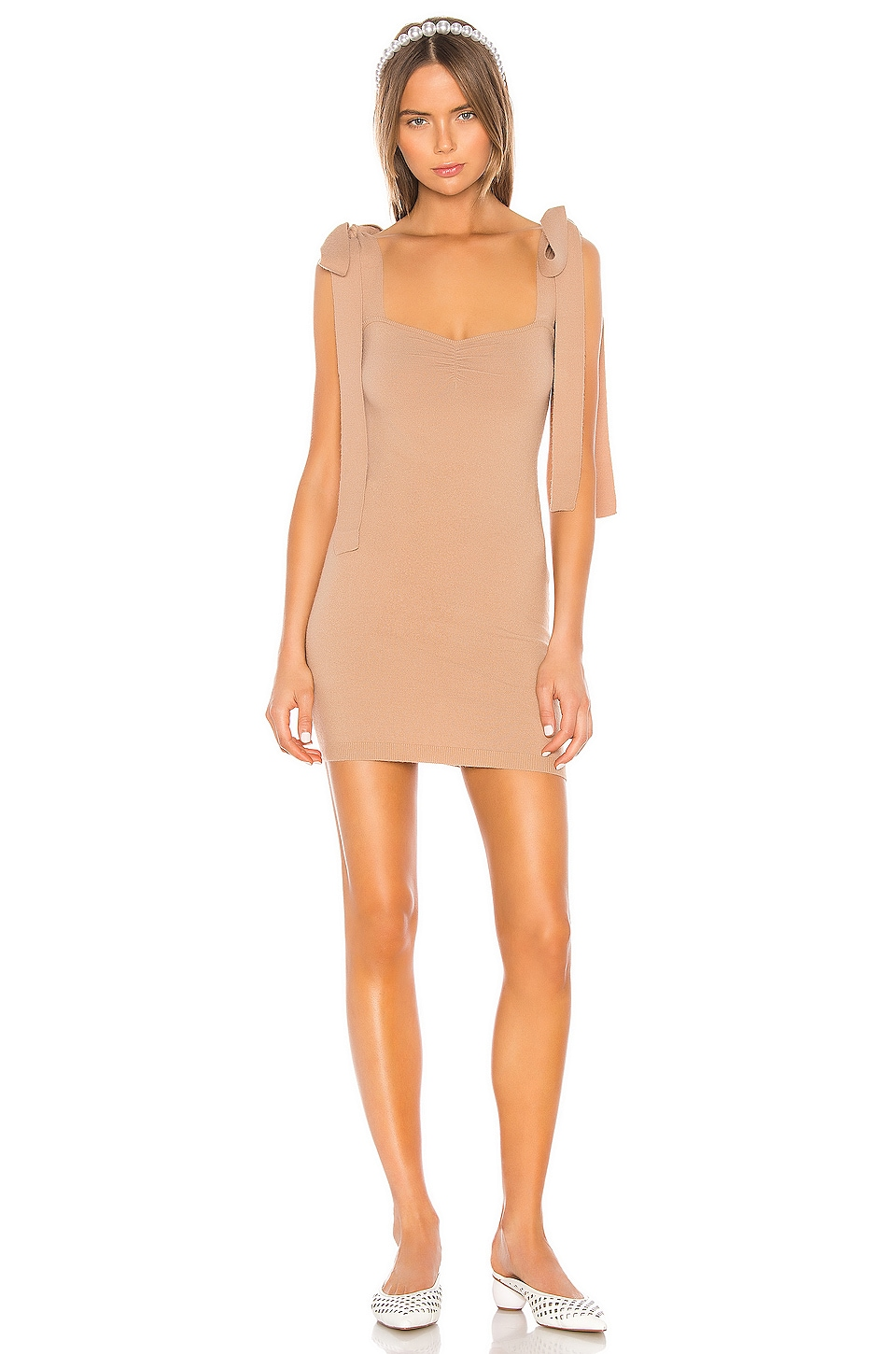 LPA Brit Dress in Camel