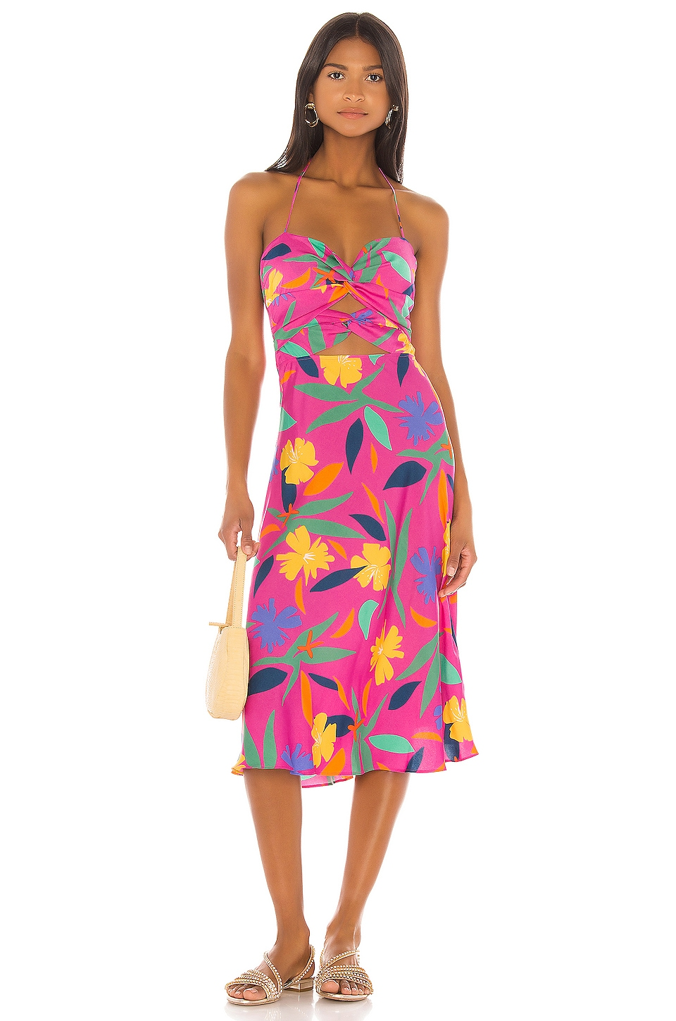 LPA Emilia Dress in Cyndi Floral