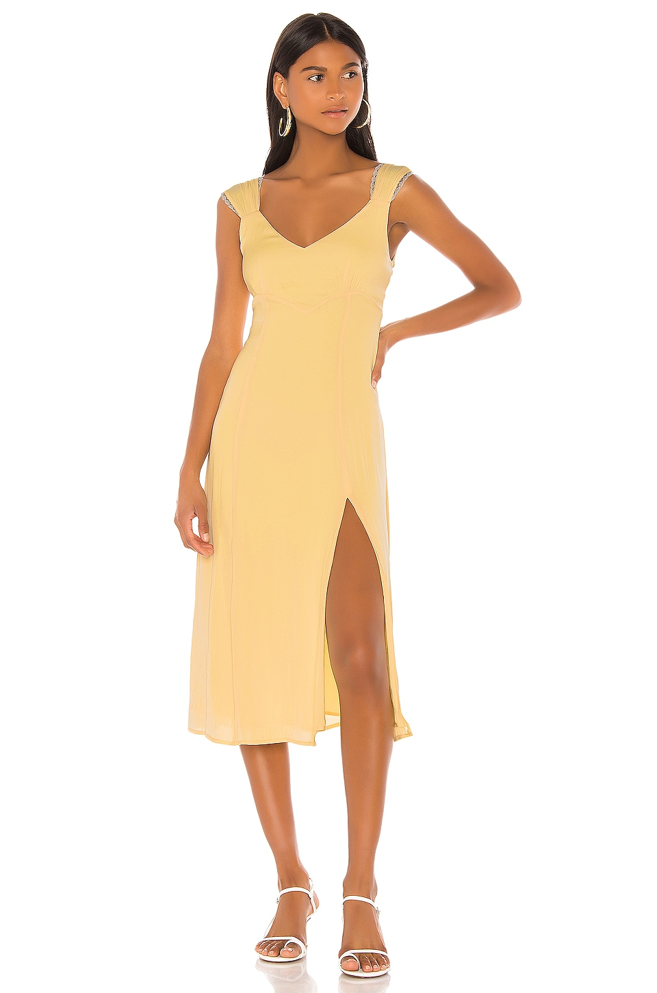 LPA Giovanna Dress in Yellow
