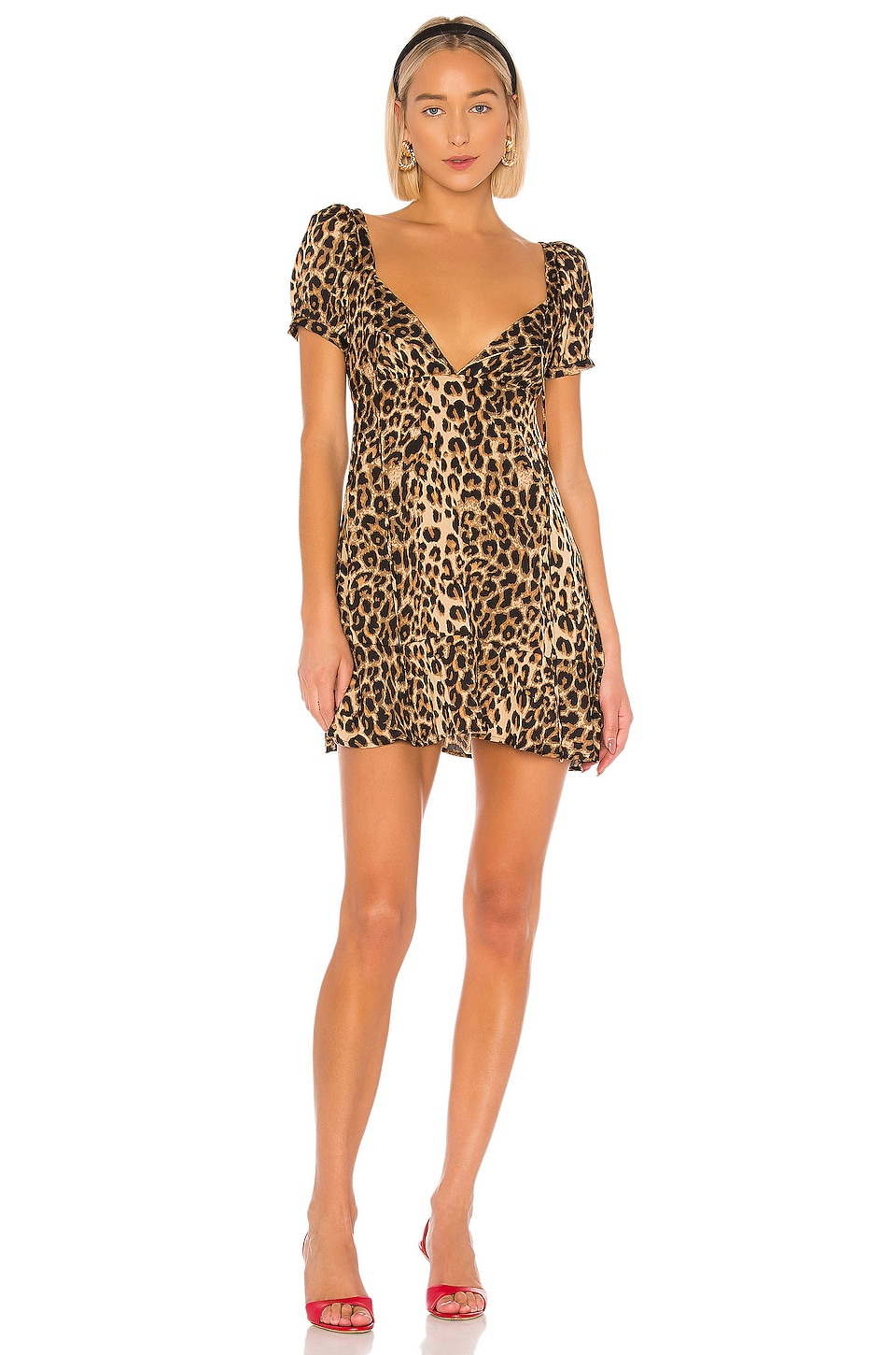 LPA Florentina Dress in Leopard