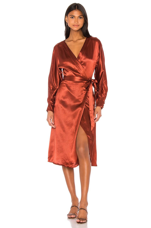 LPA Piper Dress in Copper