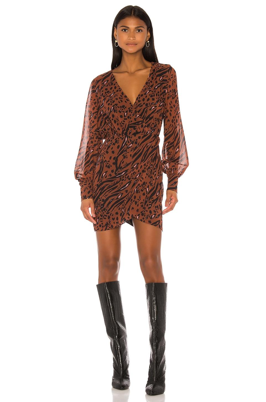 LPA Maisie Dress in Filthy Animal