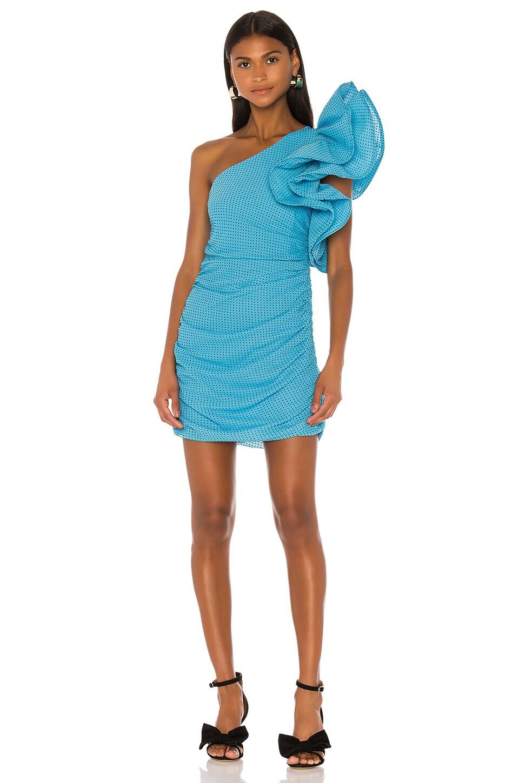 LPA Carmen Dress in Cerulean Blue