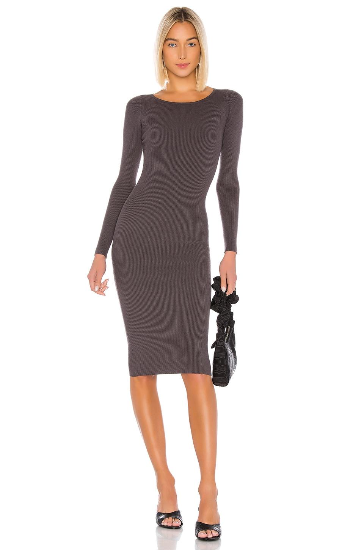 LPA Auburn Sweater Dress in Grey