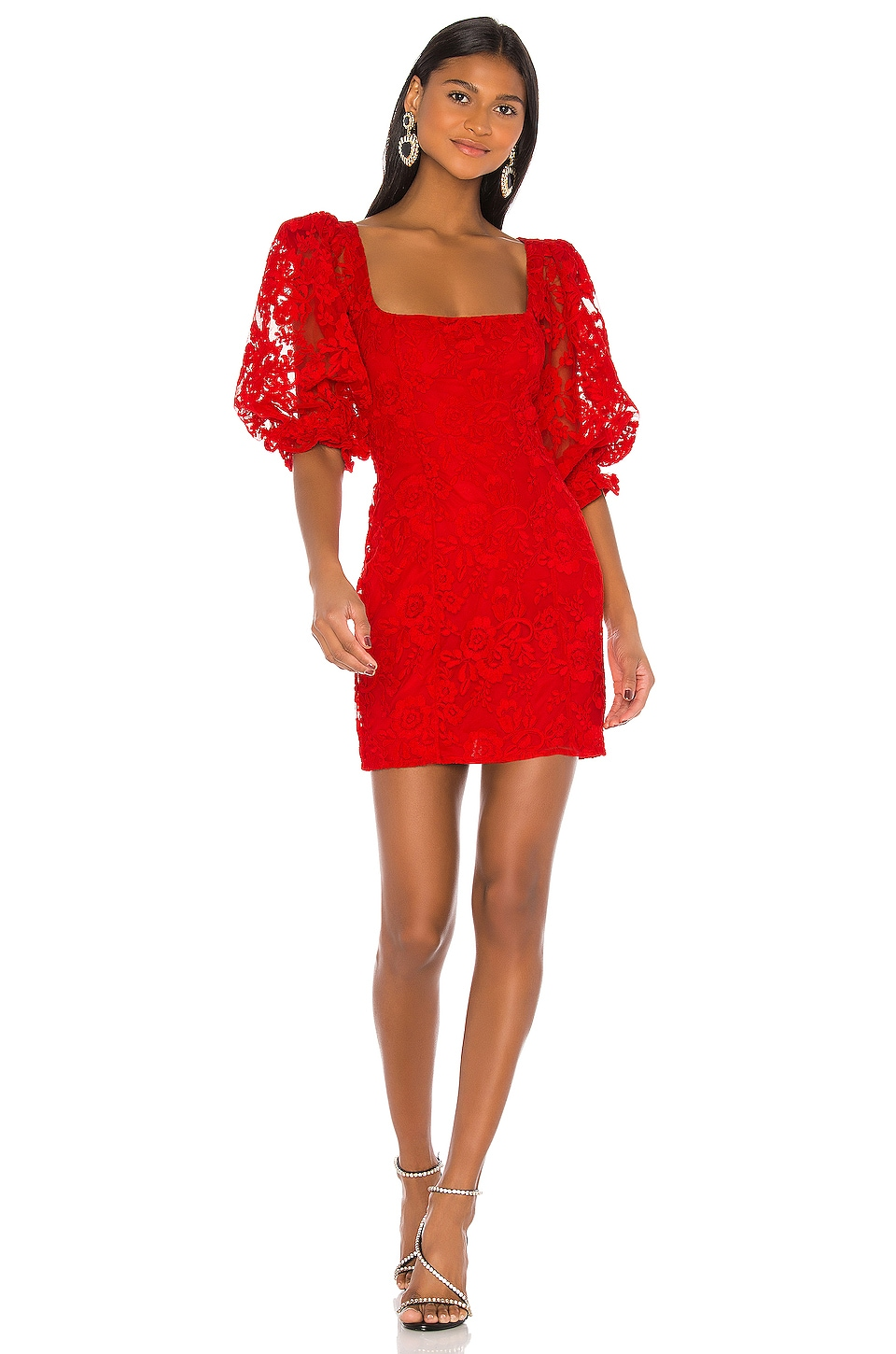 LPA Tonia Dress in Red