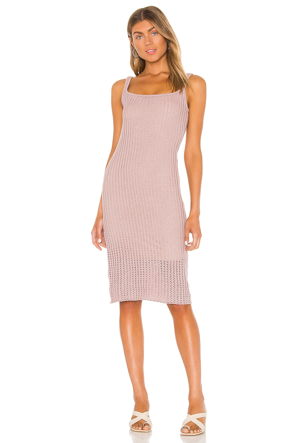 LPA Olenna Dress in Mauve