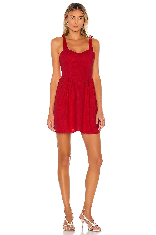 LPA Kathryn Dress in Red