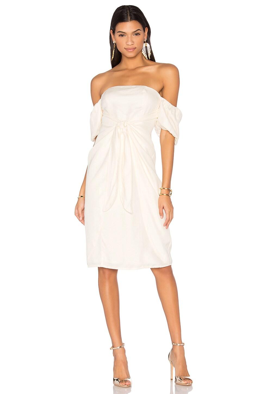 LPA Dress 146 in Cream