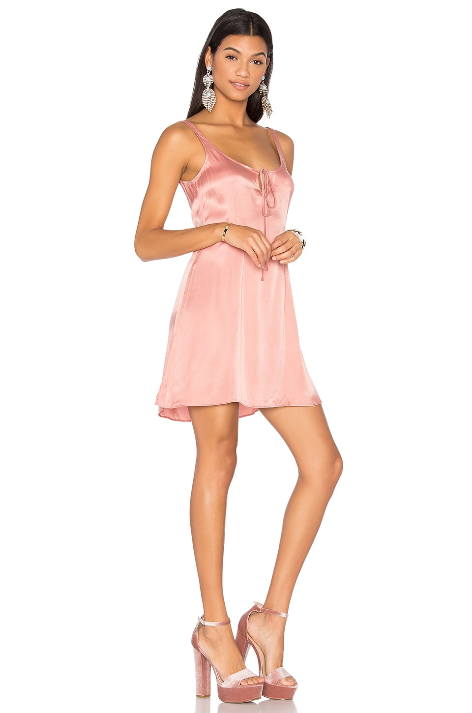 LPA Dress 126 in Rose