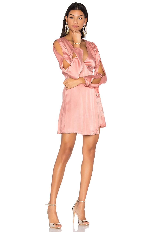 LPA Dress 123 in Rose