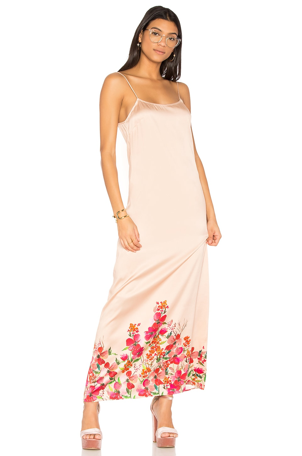 LPA Dress 192 in Border Floral