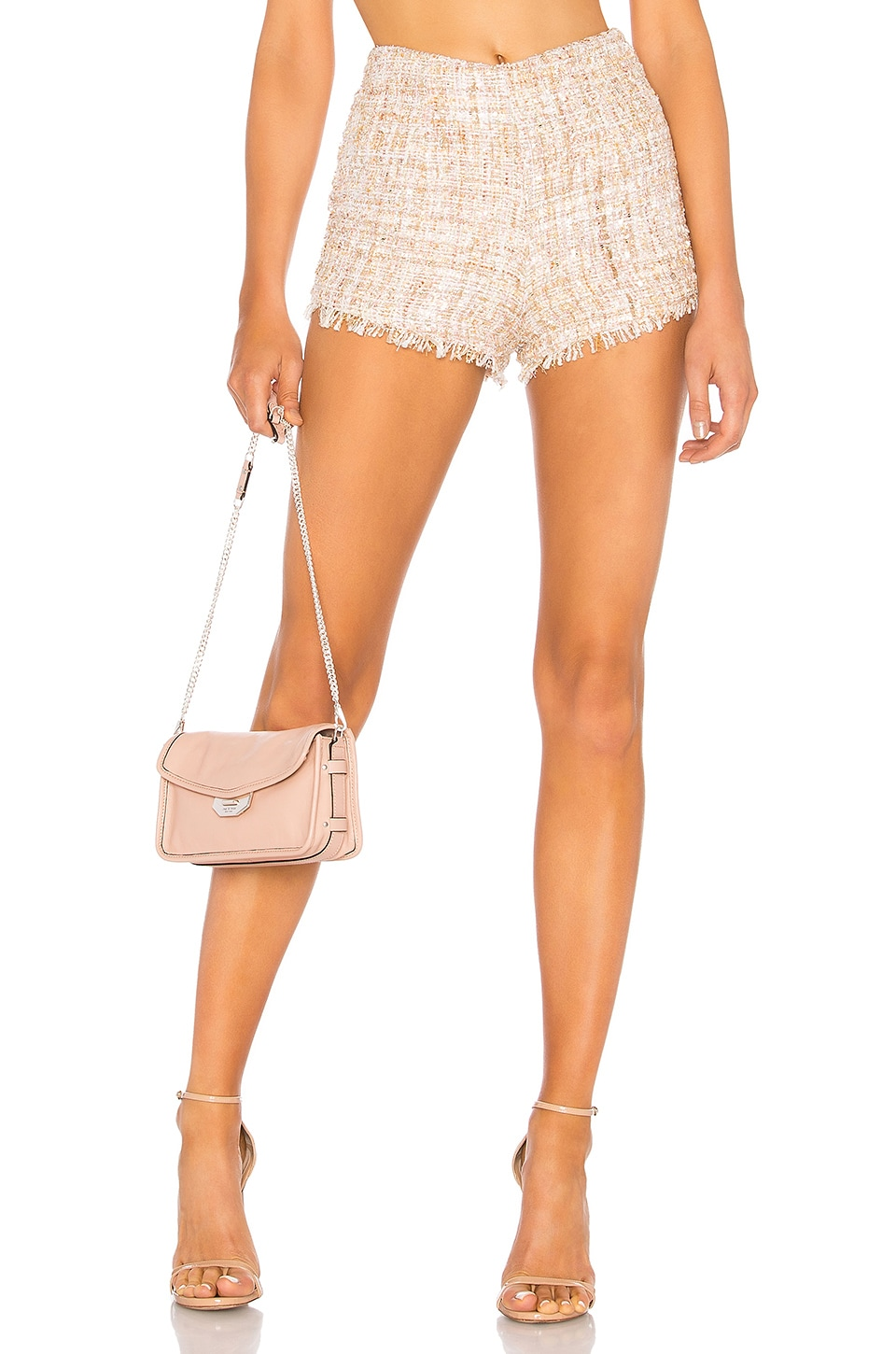 LPA Short 689 in Cream Multi