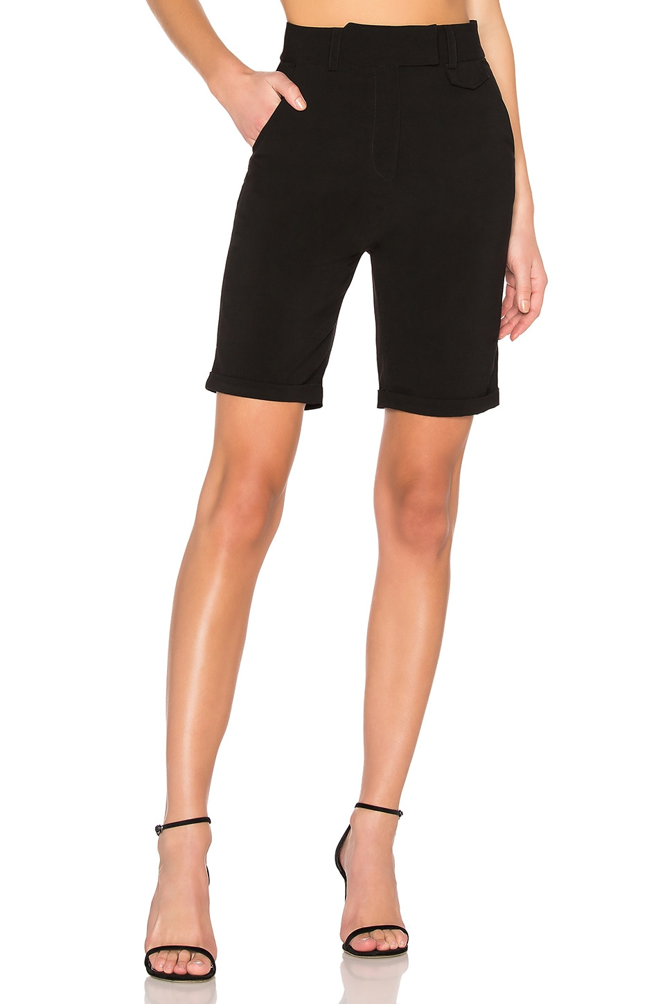 LPA Bermuda Short in Black