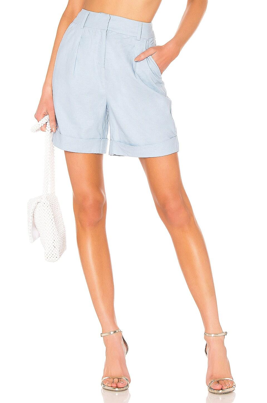 LPA High Waist Short in Light Blue