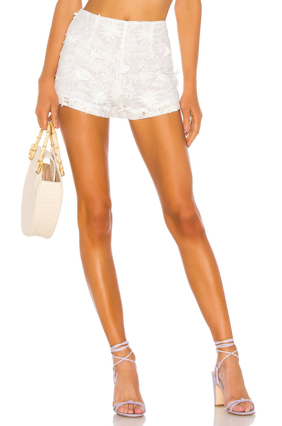 LPA Thadeo Short in White