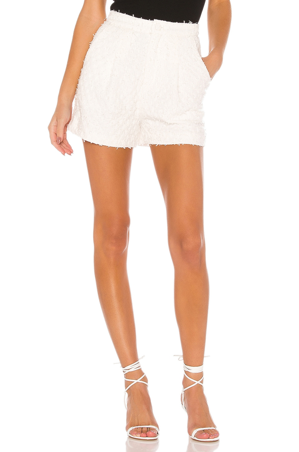 LPA Lella Short in White