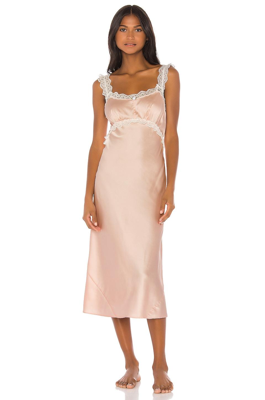 LPA Myrtle Midi Slip in Light Pink
