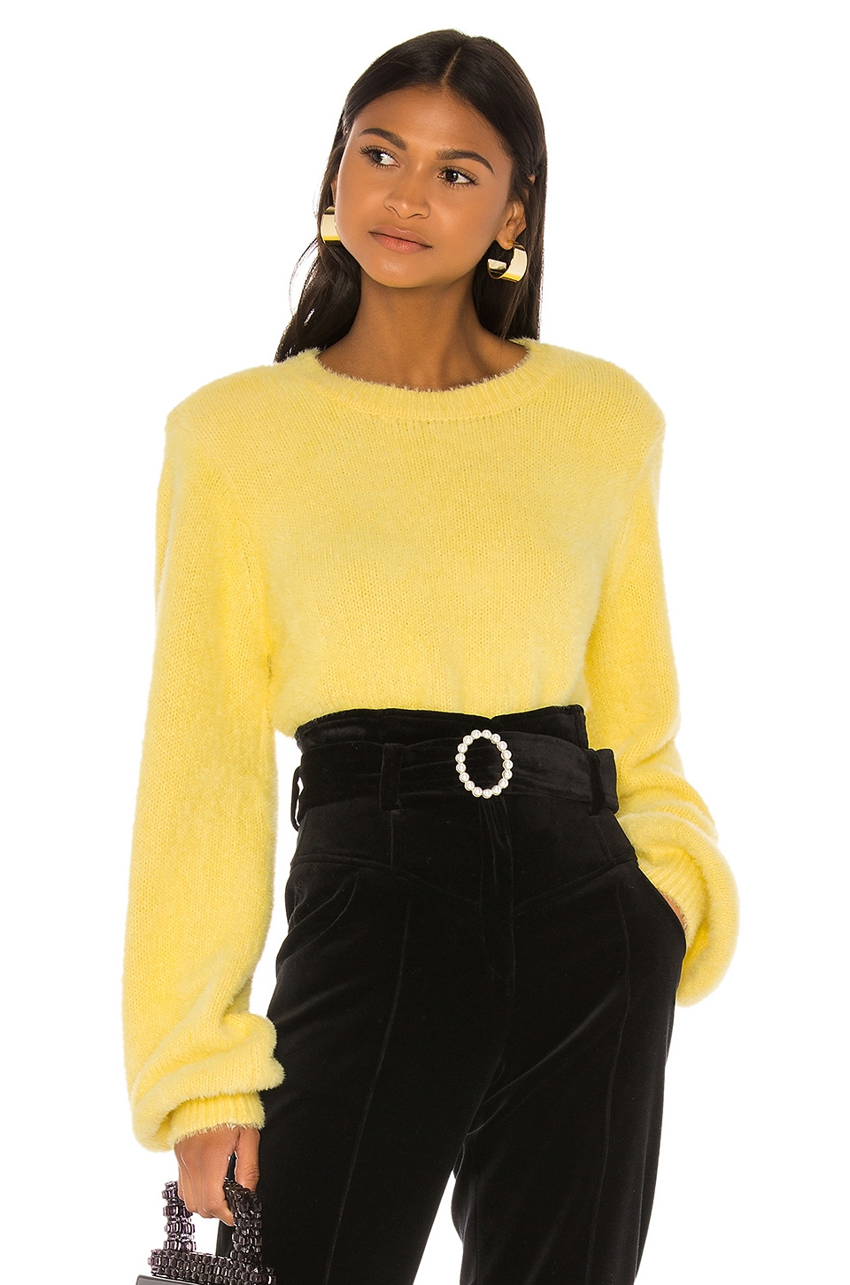 LPA Dill Sweater in Citron