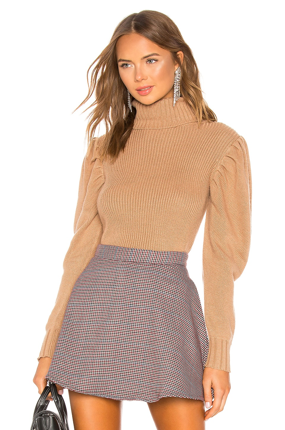 LPA Valencia Sweater in Camel