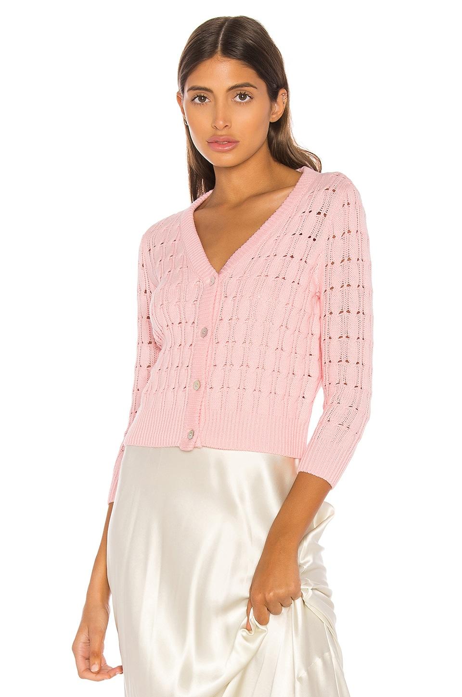 LPA Rosie Cardigan in Light Pink