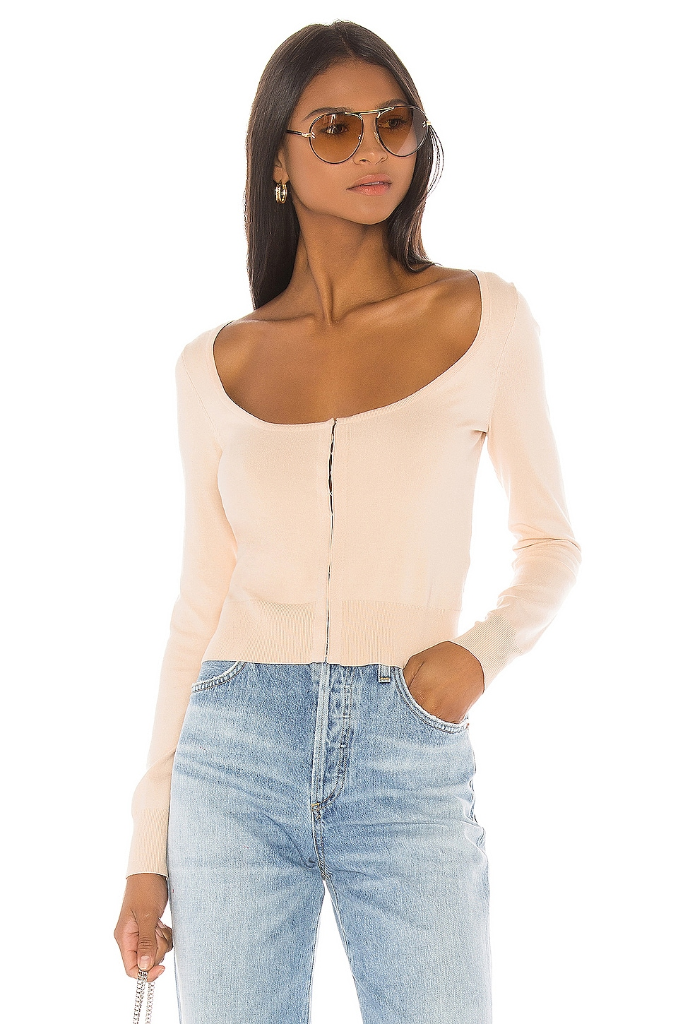 LPA Lani Sweater in Nude