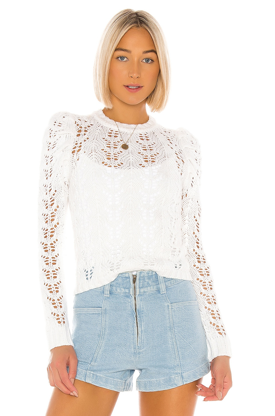 LPA Eva Sweater in White