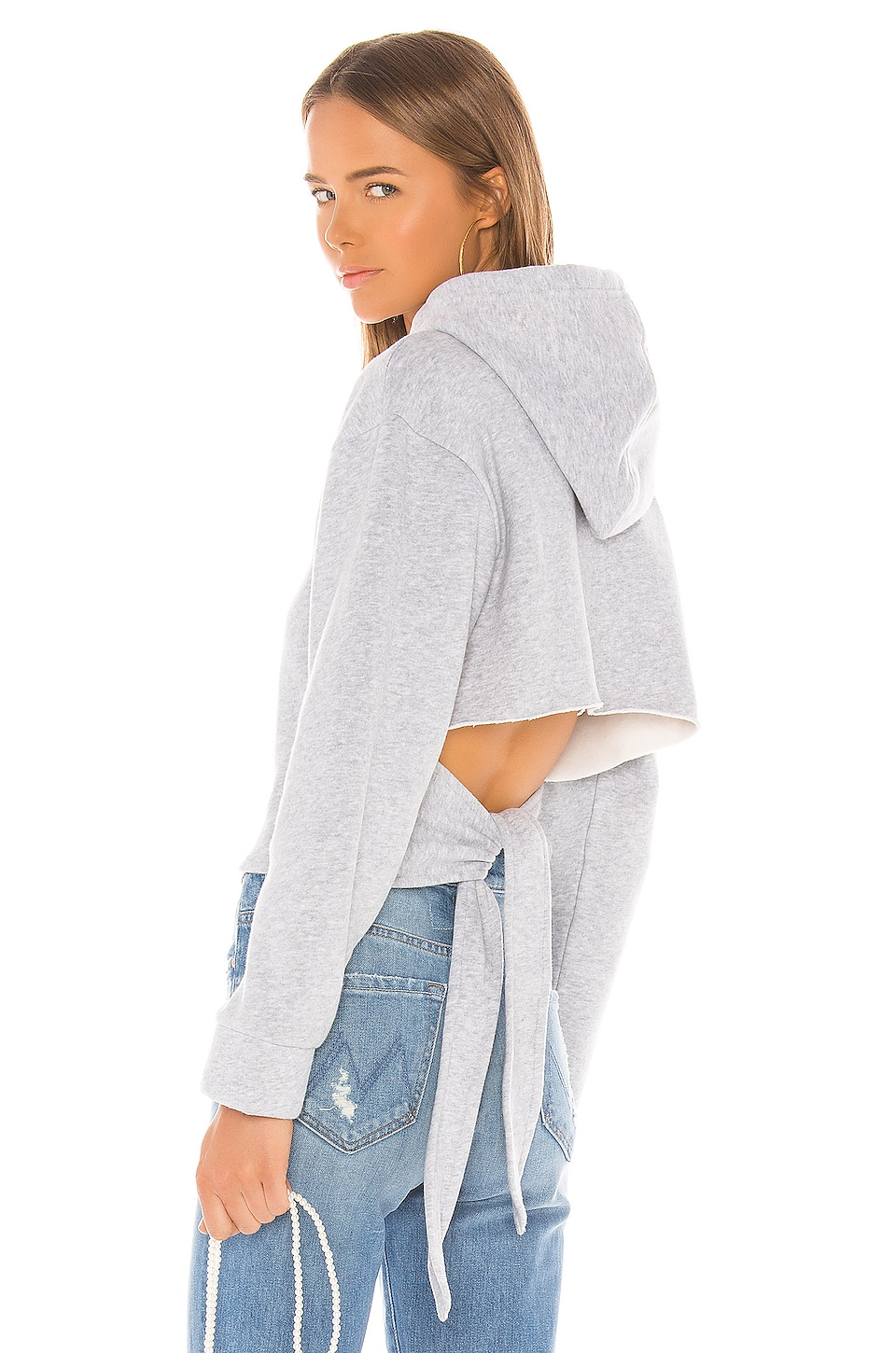 LPA Hadley Sweatshirt in Heather Gray