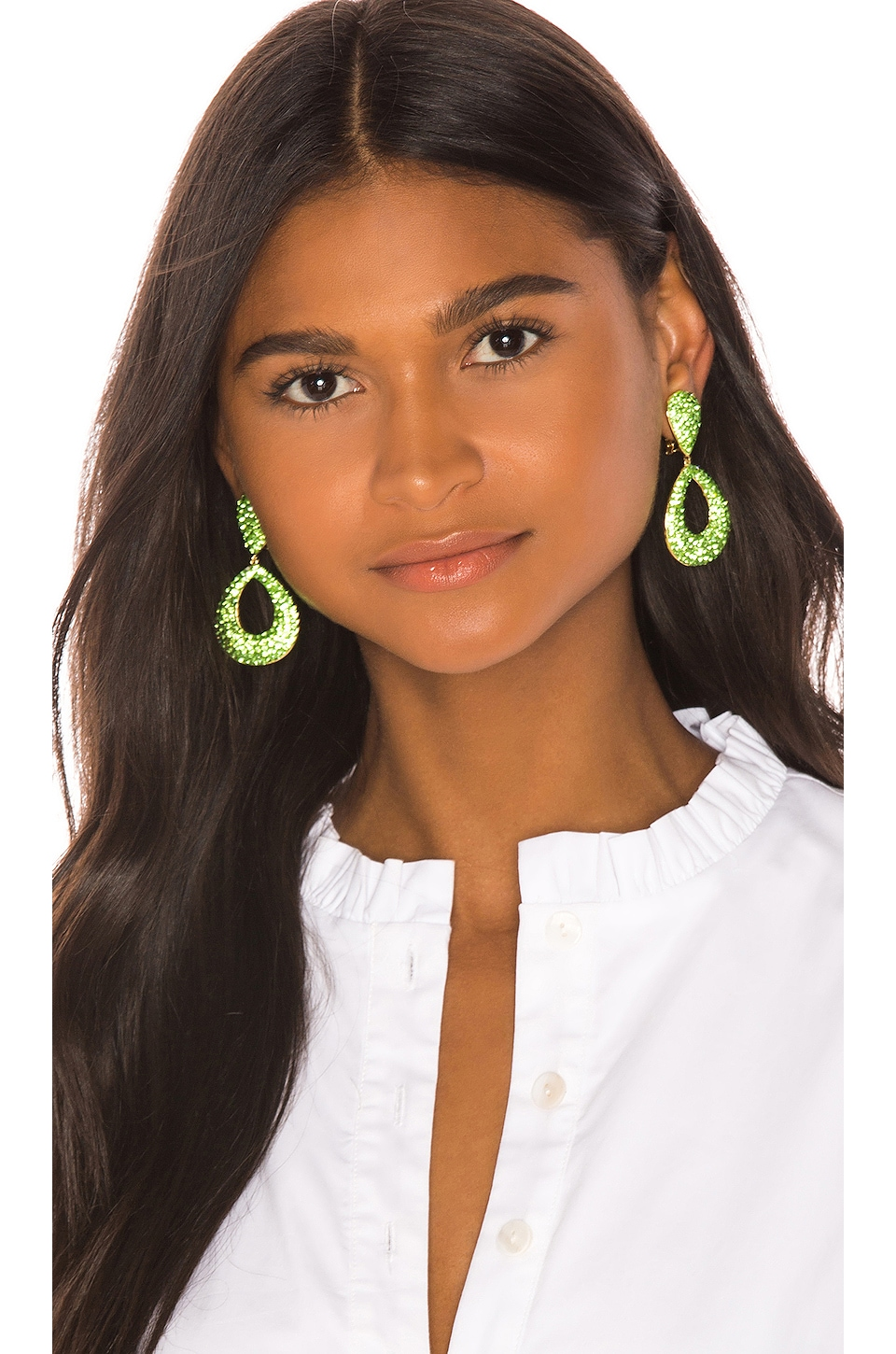 LPA Emile Earring in Green
