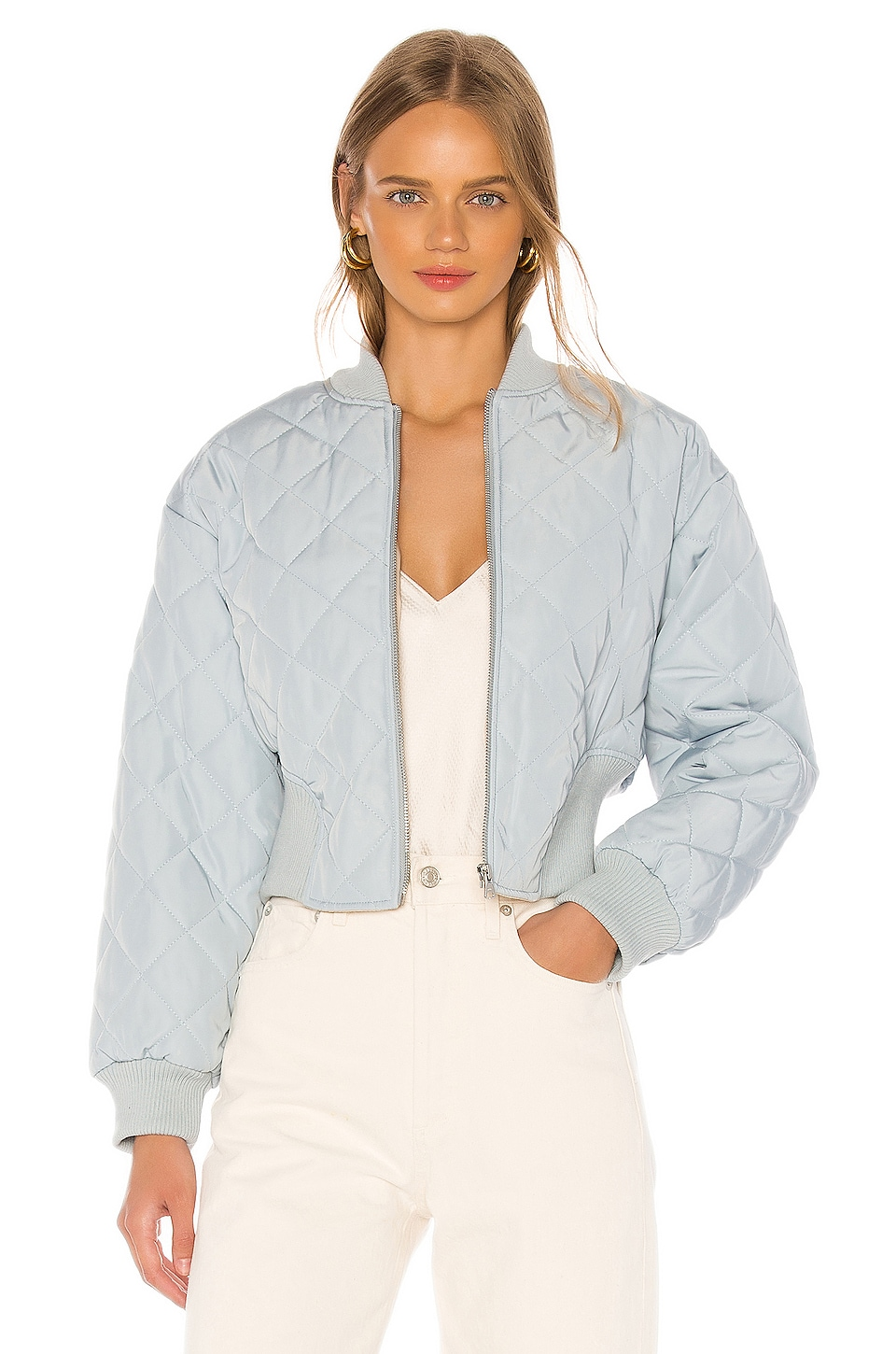 LPA Riley Jacket in Baby Blue