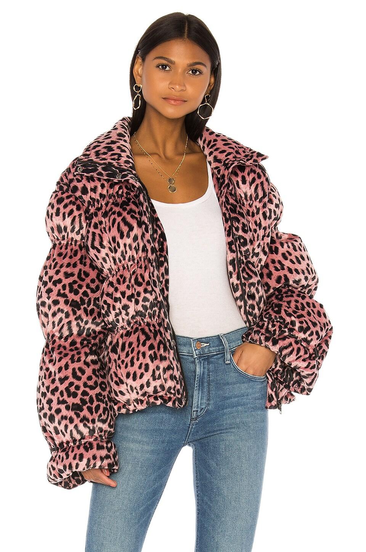 LPA Sora Jacket in Pink Leopard
