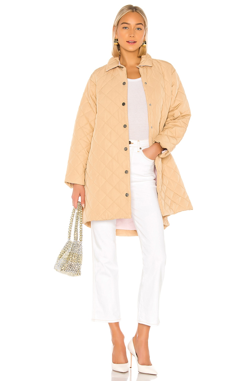 LPA Peyton Coat in Camel