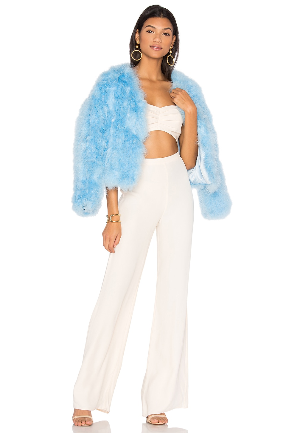 LPA Feather Jacket 118 in Sinatra Blue