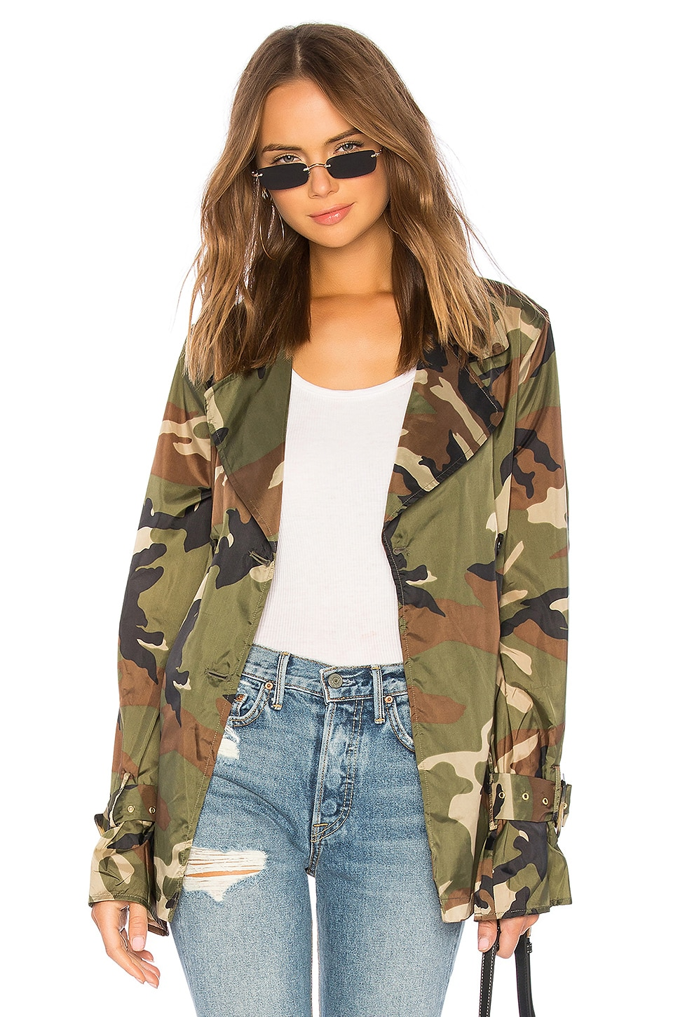 LPA Trench Coat in Camo